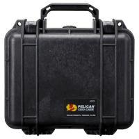 ペリカン 小型防水ハードケース 1300HK (ブラック)