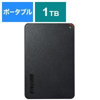 バッファロー(BUFFALO) HD-PCFS1.0U3-BBA(ブラック) USB3.1(Gen.1)対応 ポータブルハードディスク[1TB/Win・Mac対応]