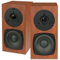 小音量オーディオを体現する、コンパクトサイズの2ウェイバスレフ型スピーカー。