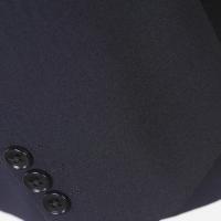 A5サイズ ノータックビジネススーツイタリア「Cerruti Dal1881」130's生地使用薄青ストライプ GS30005