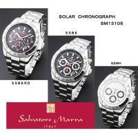 SalvatoreMarra[サルバトーレマーラ]ソーラークロノグラフ 【SM13105】メンズ腕時...
