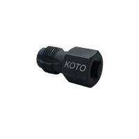 狭いスペースでO2センサーや水温センサーの取り付け部のネジを修正する専用タップです。  ●頭形状はH...
