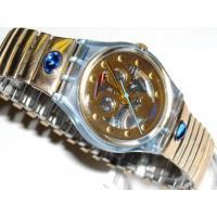 ■商品詳細 Swiss quartz accuracySwatchgold metal bracel...