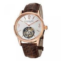 ■商品詳細 Round watch in stainless steel with exposed ...