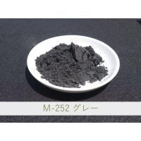 基本は練り込み用として使用されるグレー顔料です。亜鉛釉で使用する場合、亜鉛がクロムと反応するため赤茶...