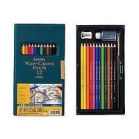 サクラクレパス 水彩色鉛筆12色 EPY12 メール便送料無料