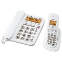 シャープ JD-G32CL デジタルコードレス電話機(子機1台) ホワイト系