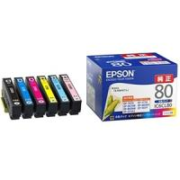 EPSON IC6CL80 【純正】 インクカートリッジ (6色パック)