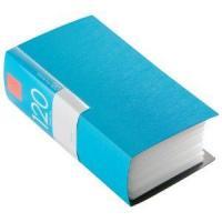 バッファロー BSCD01F120BL CD/DVDファイル ブックタイプ 120枚収納 ブルー