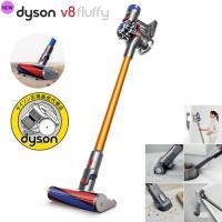 dyson(ダイソン)V8 Fluffy(フラフィ)は、新開発のソフトローラークリーナーヘッドの採用...