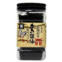 広島名産の牡蠣から採れた、かきエキスたっぷりのかき醤油で味付けした香ばしい瀬戸の味付け海苔です。風雅...