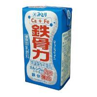 九州乳業 『ロングライフ 鉄骨力(125mlx18)』カロリー控えめ