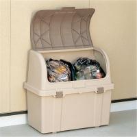 リッチェル ゴミ箱 屋外 大容量 分別ストッカー ベージュ W220C