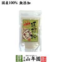 健康食品 蓮根粉 100g 国産 無添加 れんこん粉 レンコンパウダー 蓮根粉末 送料無料