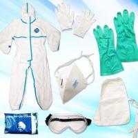 タイベック2型 放射能除染用・感染症防護対策キットICY-35-2 サイズM(青い線はありません)(医療従事者及び葬祭業社は25日間で発送)