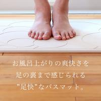 日本製 珪藻土バスマット なのらぼ 足快バスマット Made in Japan [57.5×42.5cm] 全8柄 レギュラーLサイズ 速乾 吸水 足ふきマット 珪藻土マット 母の日|yamayuu|02