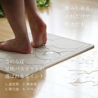 日本製 珪藻土バスマット なのらぼ 足快バスマット Made in Japan [57.5×42.5cm] 全8柄 レギュラーLサイズ 速乾 吸水 足ふきマット 珪藻土マット 母の日|yamayuu|03