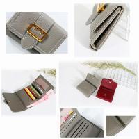 三つ折り財布 レディース コンパクト ミニ財布 レザー 小さい財布