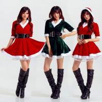 コスプレ サンタクロース コスチューム 2set【大きいサイズ レディース ドレス キャバ コスプレ...