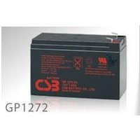 GP1272:小形制御弁式密閉形鉛蓄電池(12V-7.2Ah)CSBバッテリー|yasukawa