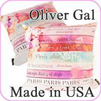 Oliver Gal Romantica Spring クッション サイズ:W45×H45cm 生産...