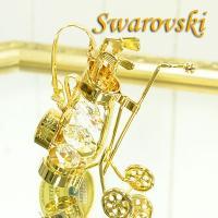 スワロフスキー ゴルフセット サイズ:W9×D3.5×H9.5cm 生産国:中国 クリスマスや誕生日...
