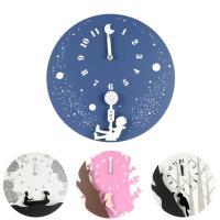 壁掛け時計 4種類の絵柄よりお選び下さい。 サイズ:Ф30×D7cm 材質:MDF、プラスティック、...