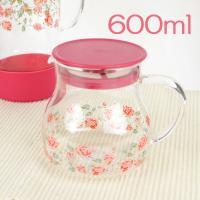 mothersday0514耐熱ガラス 猫柄と花柄のティーポット 4種類からお選びください。 サイズ...