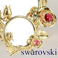 スワロフスキー ミラー  サイズ:W12×D6×H10cm(ミラー直径9cm) 材質:スワロフスキー...