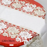 ブリッランテレース テーブルランナー 77596 サイズ:W120×D35cm 材質:生地/綿100...