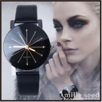 ・商品説明  ・キレイな12面カットガラスで、大人気でオシャレな腕時計ですごくオススメです♪ ・シン...