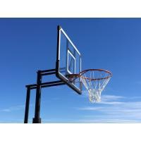 ハンドルを回すだけの簡単高さ調節とシンプルなデザインが好評です。 /送料無料/ バスケットゴール BG-305DX 屋外 家庭用 バスケットボール ゴール