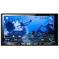 ■7V型ワイドVGAモニターを備え、DVD-V/VCD/CD/Bluetooth/USB/FM/AM...