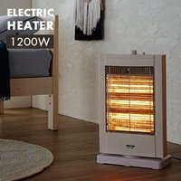 ハロゲンヒーター PH-1211-W  暖房器具 電気ストーブ テクノス TEKNOS 送料無料