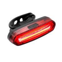 【送料無料】自転車用 テールライト 防水IPX6セーフティライト 赤青LED 六つ点灯モード USB充電式 リアライト