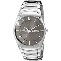 ■商品詳細 Round stainless steel watch featuring grey s...