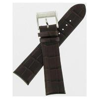 ■商品詳細 Brown Croco Grained Leather Strap23mm Lug Wi...