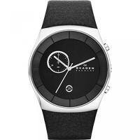 ■商品詳細 Round stainless steel watch with black dial ...