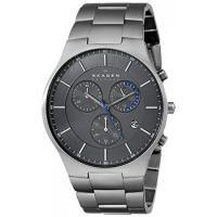 ■商品詳細 Titanium watch featuring round grey dial wit...