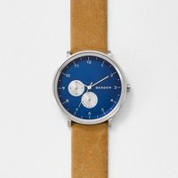 ■商品詳細 Round watch featuring blue dial with Arabic ...