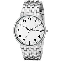 ■商品詳細 Round stainless steel bracelet watch with wh...
