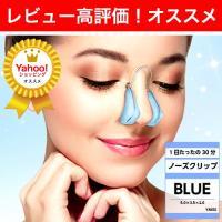 ノーズクリップ 鼻プチ 鼻高くするグッズ 鼻クリップ 鼻を高くする器具 鼻 グッズ 鼻 高くする ブルー