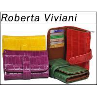 送料無料!Roberta Vivianiレディース二つ折り財布、 合皮、婦人財布!    ・カード入...