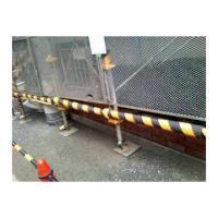 単管カバー トラ模様 60本 養生材 単管足場の養生 単管足場の養生 注意喚起 単管クッション|yojo|05