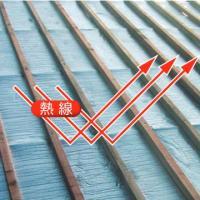 ラミパックSD-W 厚み8mmX幅1200mmX長さ42m アルミ純度99%、反射率97%の高遮熱材 アルミシート 屋根材 外壁 住宅 対策 業務用 yojo 03