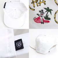 BRIXTON キャップ CHA-CHA HP CAP ユニセックス 帽子 ホワイト スナップバック ブリクストン正規販売店