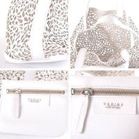 サビナ SABINE パンチングレザーバッグ ホワイトsabs124620 #ALL 【正規取扱店】