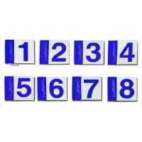 ハタチ グラウンドゴルフ ホールポスト用旗セット 16 ブルー アクセサリー(bh5000s-027)