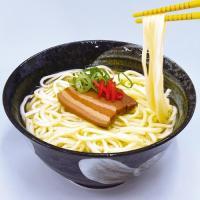 【送料無料】生沖縄そば味付け3枚肉付きセット1人前×5個