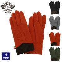 オロビアンコらしいカラーリングとシンプルなデザインが特徴的な手袋。  カフス部分にはオロビアンコのロ...